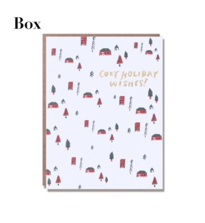 Cozy Cabins - Boxed set of 6