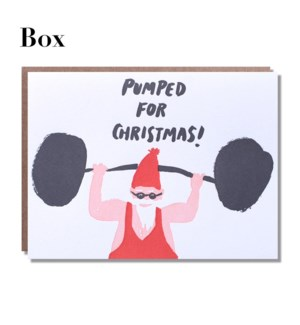 Pumped For Christmas - Boxed set of 6