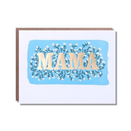 Floral Foil Mama