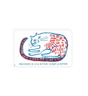 Kitten Gift Card