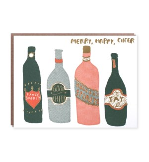 Merry, Happy, Cheer- Boxed