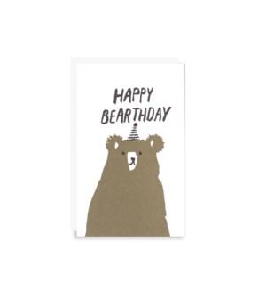 Happy Bearthday Gift Card