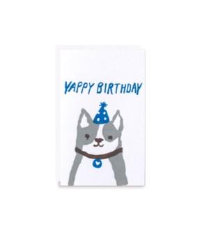 Yappy Birthday Gift Card
