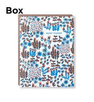 Teeny Meadow Thank You-Boxed set of 6