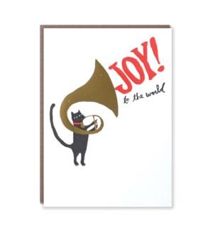Tuba Cat Joy