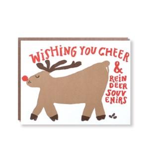 Reindeer Souvenir Cheer