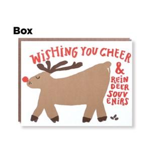 Reindeer Souvenir Cheer-Boxed set of 6