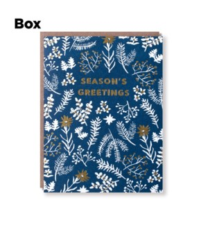Winter Garden Season'S Greetings-Boxed set of 6