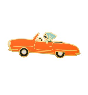 Car Enamel Pin