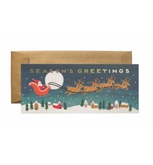 Boxed set of Santa's Sleigh No. 10 Cards
