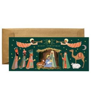 Boxed Set of Holiday Nativity No. 10 Card