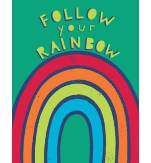 follow your rainbow 4.25x5.5|Great Arrow
