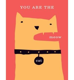 cats meow 4.25x5.5|Great Arrow