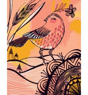 Watercolor Bird|Great Arrow