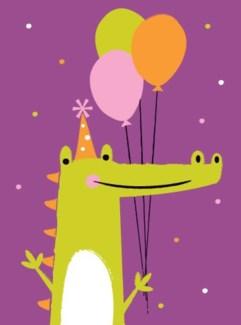 Crocodile!!! 5x7|Great Arrow