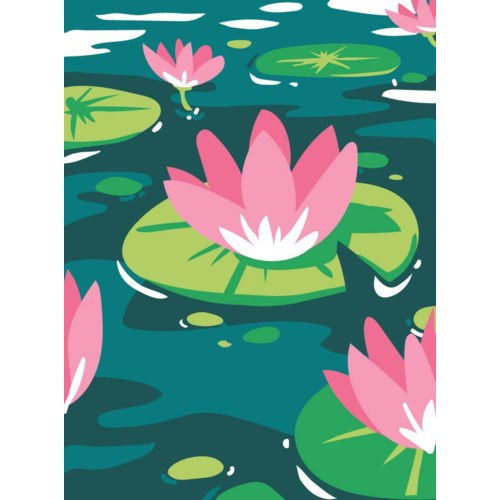 Water lily 5x7|Great Arrow