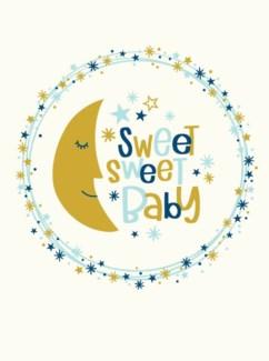 sweet moon baby|Great Arrow 5x7