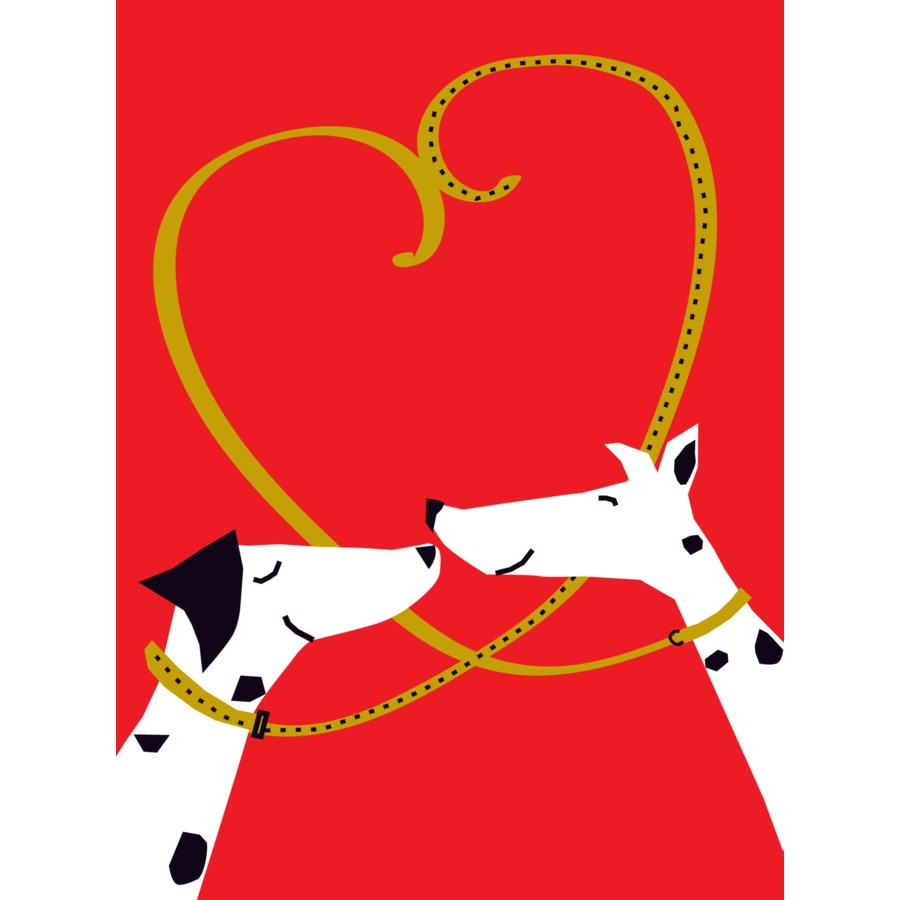 Dalmatian Love Great Arrow