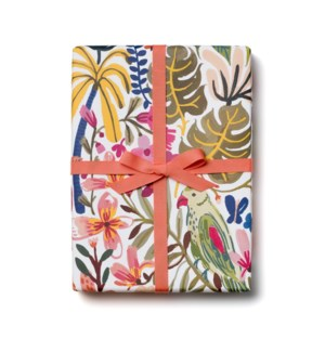Tropical Jungle roll - 3 sheets
