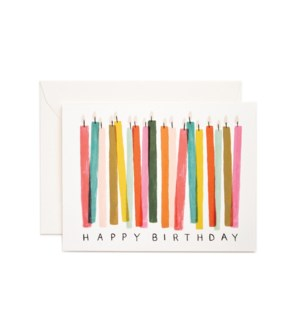Boxed set of Birthday Candle cards