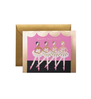 Boxed set of Birthday Ballet cards