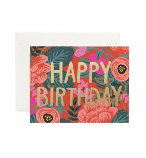 Boxed set of Poppy Birthday cards