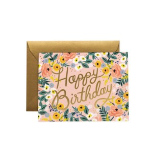 Rosé Birthday Card