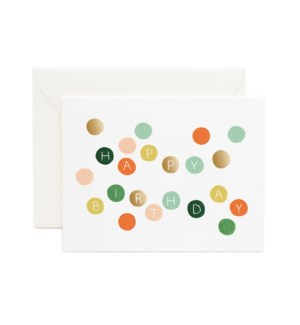 Birthday Dots Cards