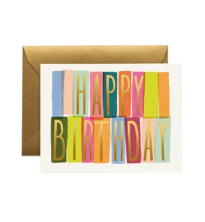 Boxed Set of Mérida Birthday Card