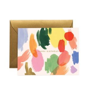 Boxed Set of Palette Birthday Card