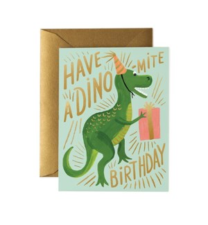 Boxed Set of Dino-mite Birthday Card