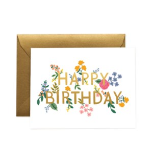 Boxed Set of Wildwood Birthday Card