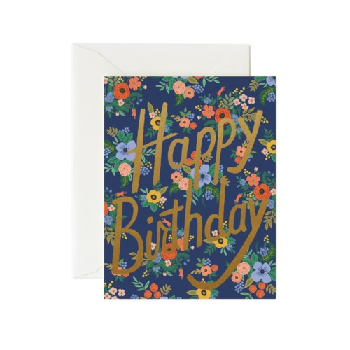 Boxed set of Garden Birthday Cards