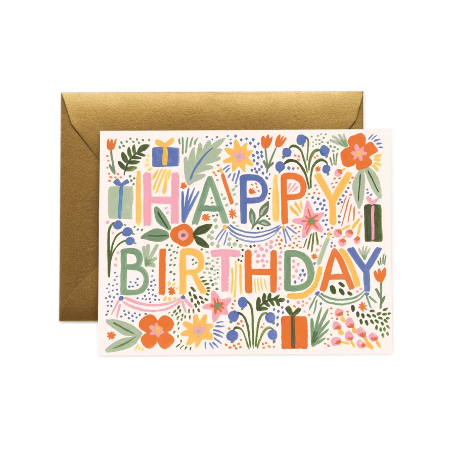 Boxed set of Fiesta Birthday Cards