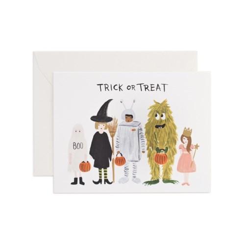 Halloween Lineup Card