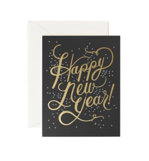 Boxed set of Shimmering New Year cards