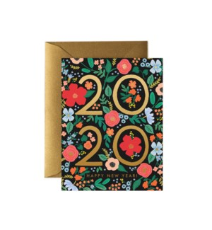 Boxed set of 2020 New Year card