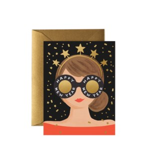 Boxed set of New Year Girl cards
