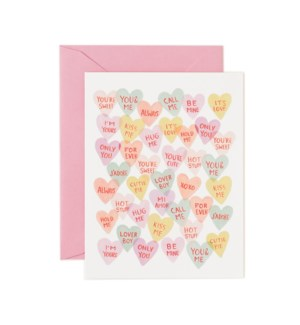 Boxed set of Valentine Sweethearts cards