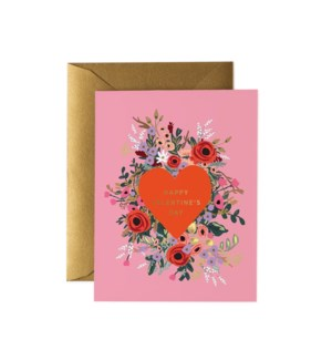 Boxed set of Blooming Heart Valentine cards