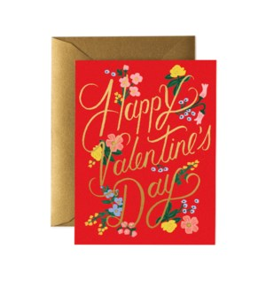 Boxed set of Rouge Valentine's Day Cards