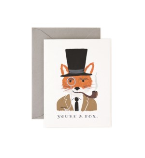 Boxed set of You're a Fox cards