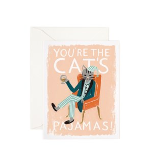 Boxed set of You're the Cat's Pajamas cards