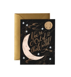 Boxed set of You're Out of This World Card