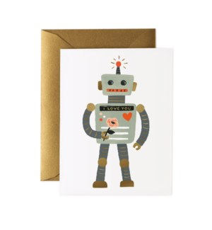 Boxed set of Love Robot cards