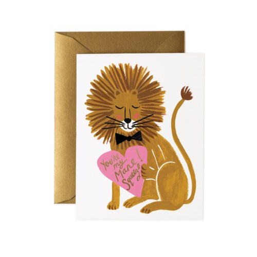 Boxed set of You're My Mane Squeeze Cards