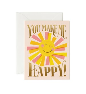 Boxed set of You Make Me Happy Cards
