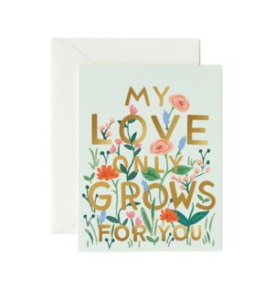 Boxed Set of Love Grows Card
