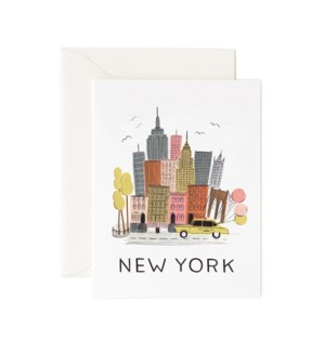 Boxed set of New York cards