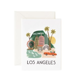 Boxed set of Los Angeles cards